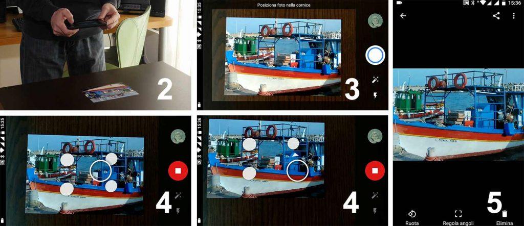 Come usare FotoScan di Google Foto